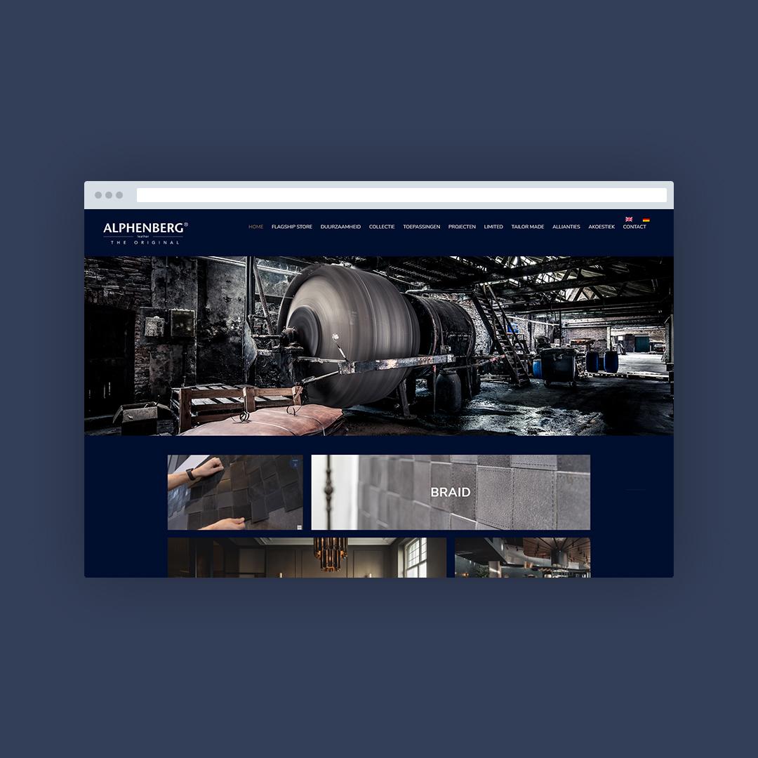 Nieuwe website voor Alphenberg