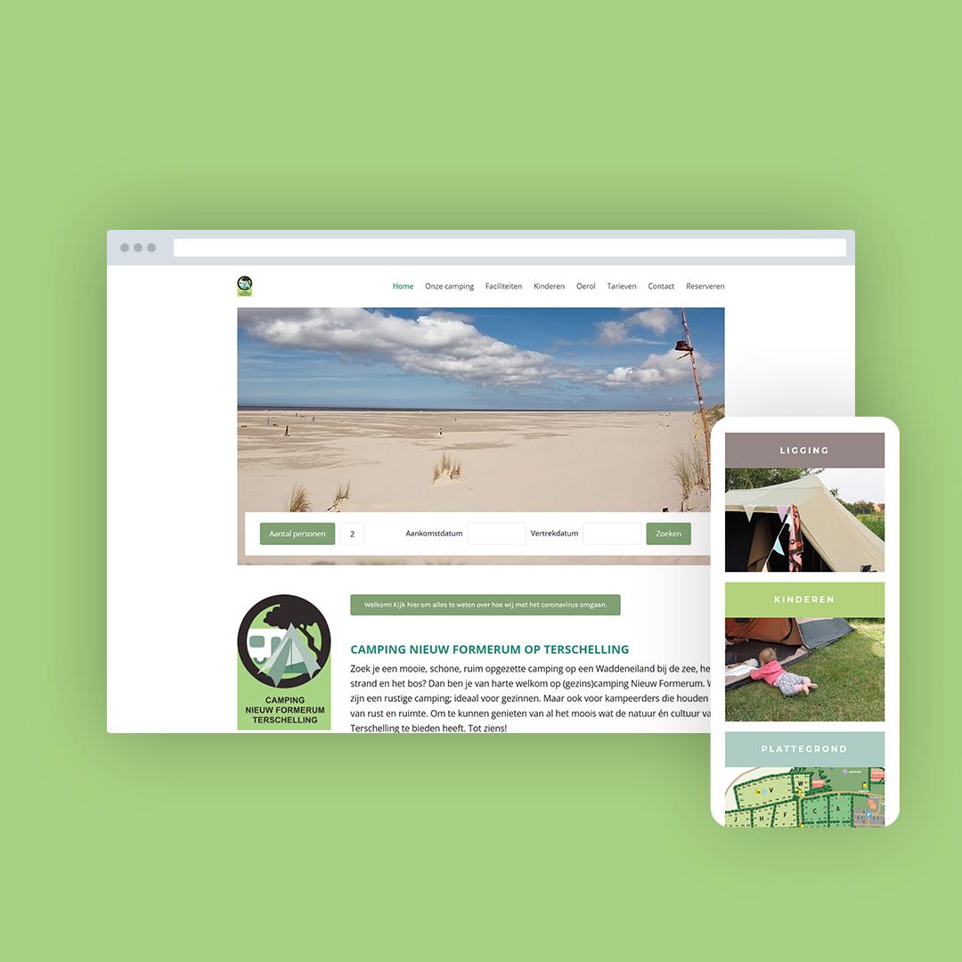 Nieuwe website voor Nieuw Formerum