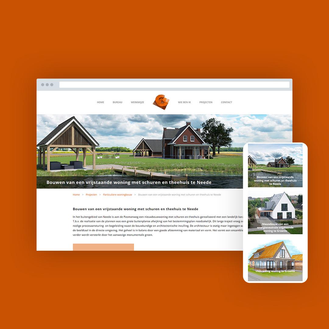 Nieuwe website voor Christian Wieggers