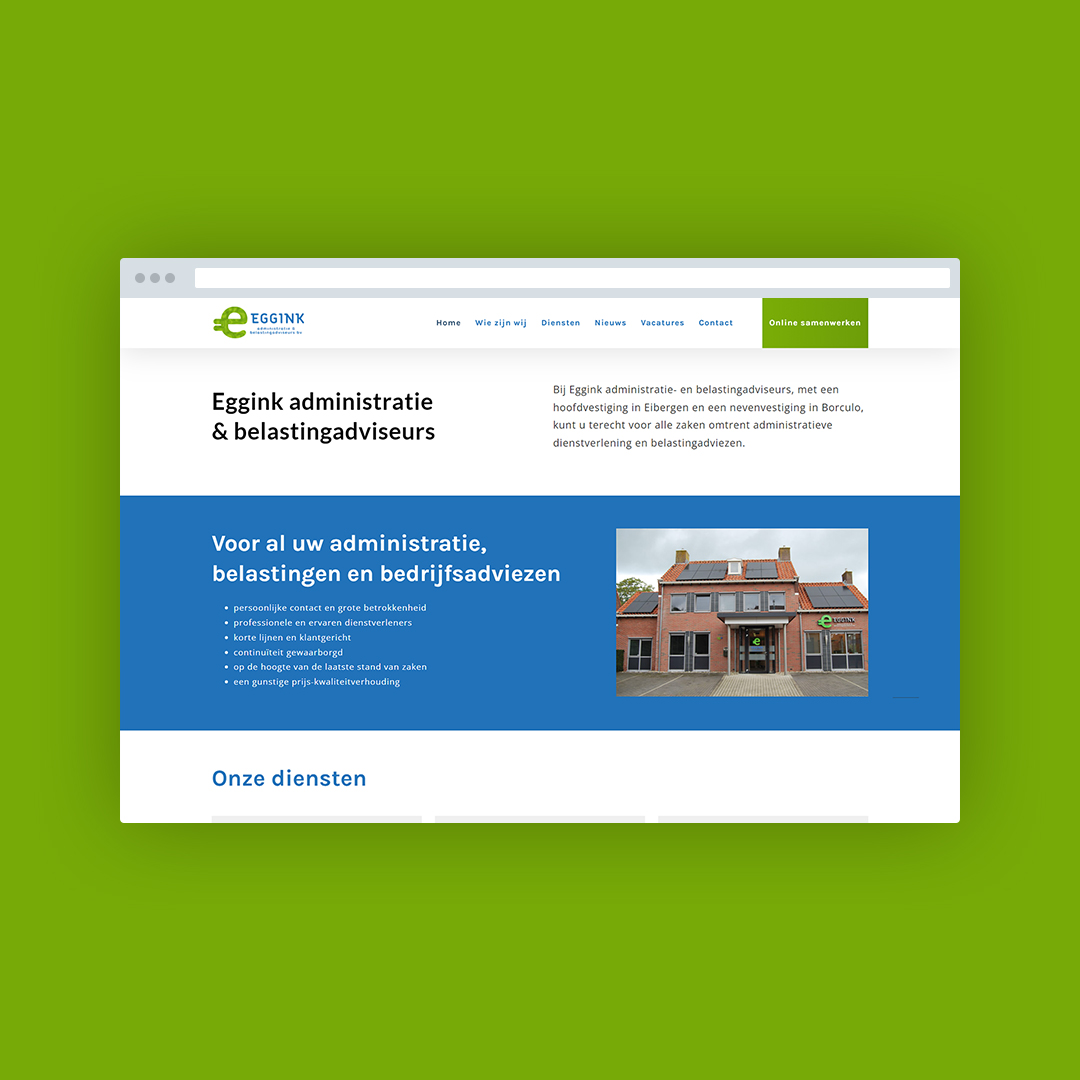 Website laten maken in Eibergen