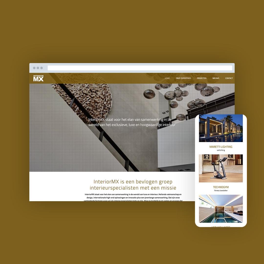 Nieuwe website voor InteriorMX
