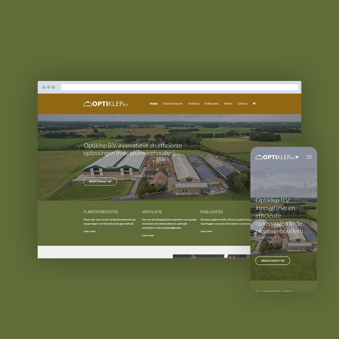 Nieuwe website voor Optiklep