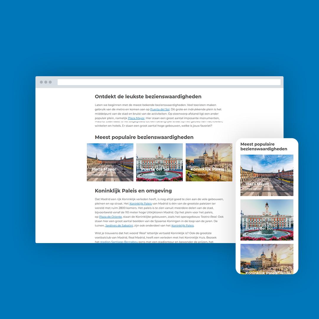 Nieuwe website voor OverMadrid