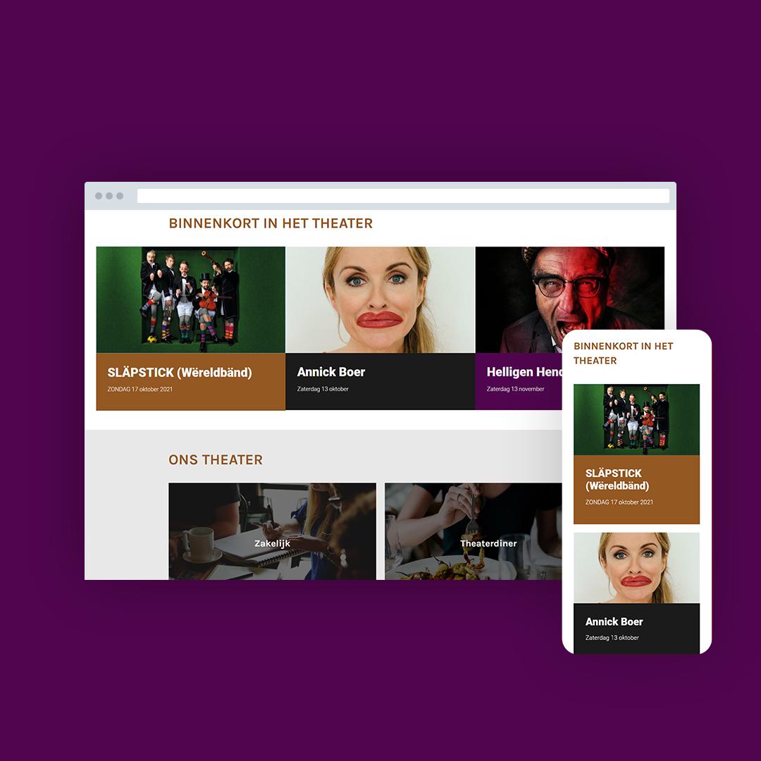 Nieuwe website voor Theater Berkelland