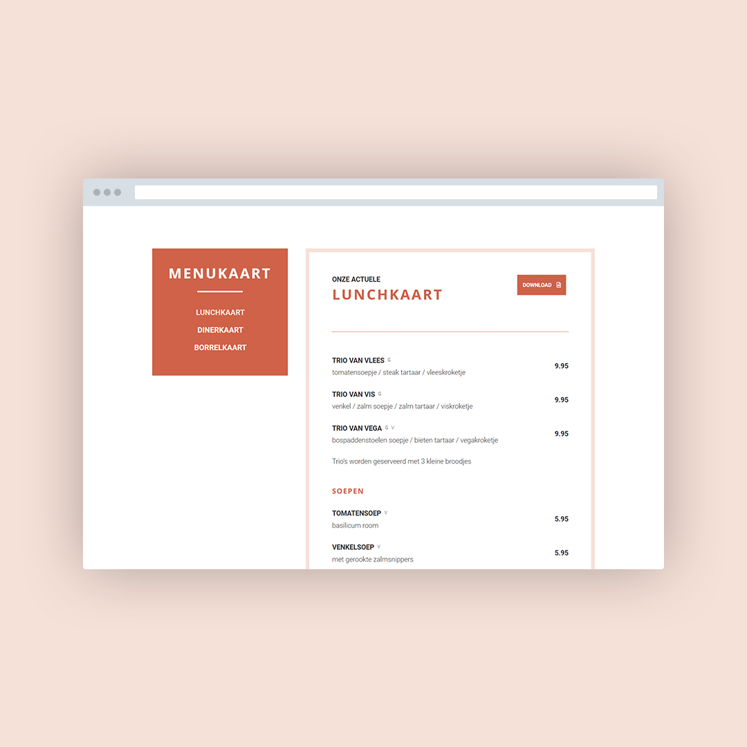 Nieuwe website voor de Bakkerieje