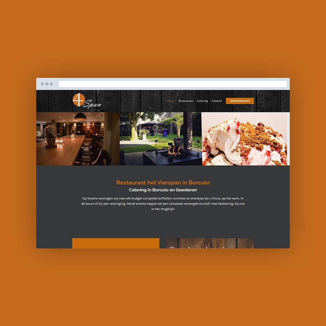 Nieuwe website voor 't Vierspan