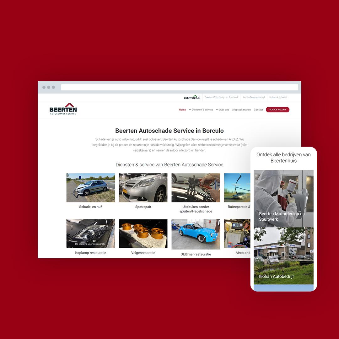 Nieuwe website voor Beertenhuis