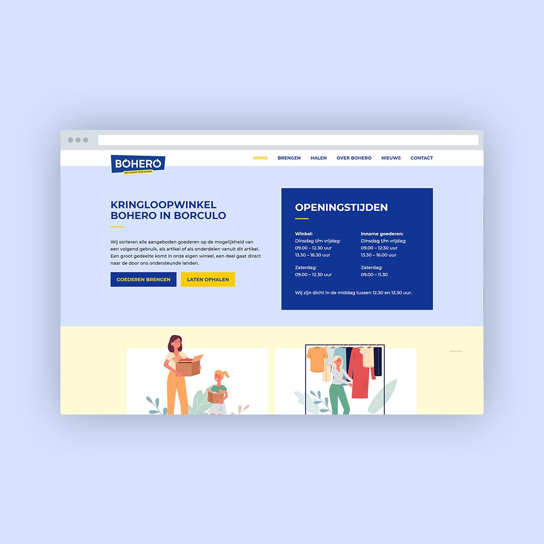 Nieuwe website voor Bohero
